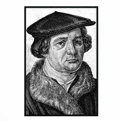 Martin Luther - Poster Print