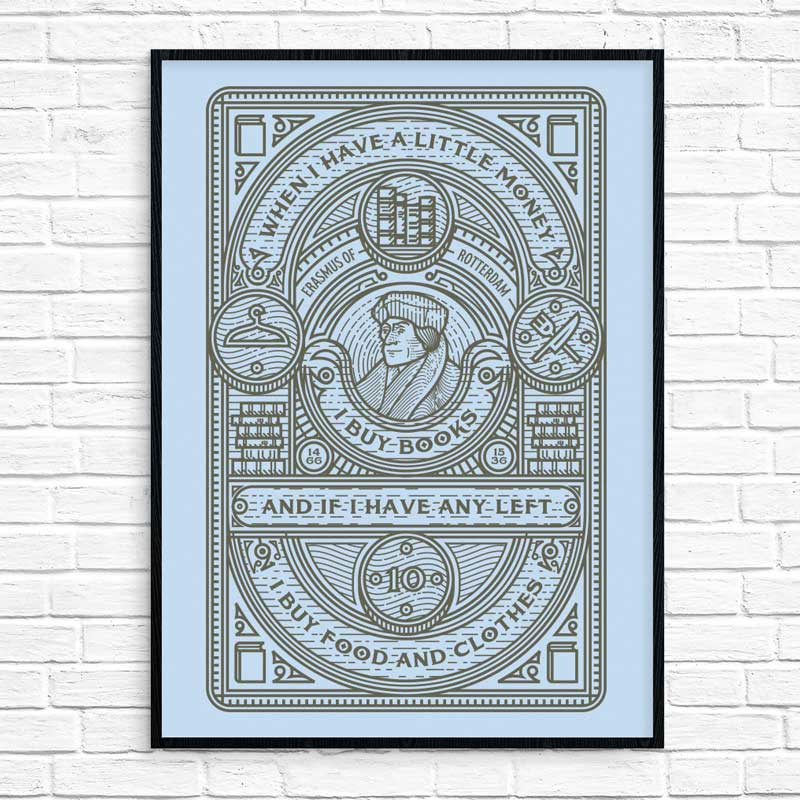 When I Have A Little Money- Poster Print