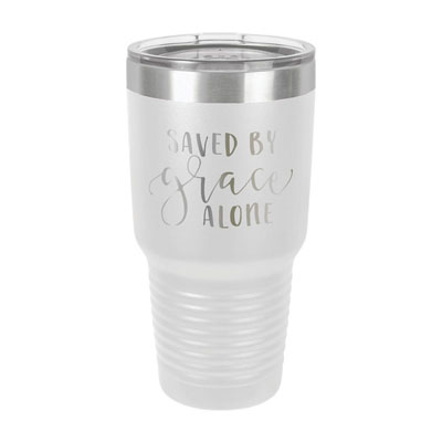 Saved By Grace Alone Insulated Tumbler