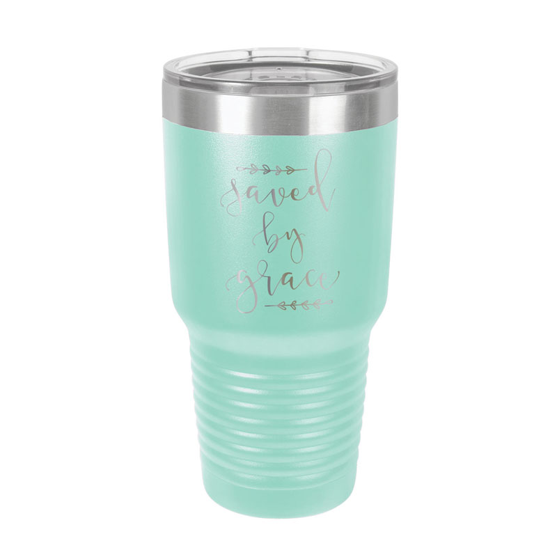 Saved By Grace Insulated Tumbler