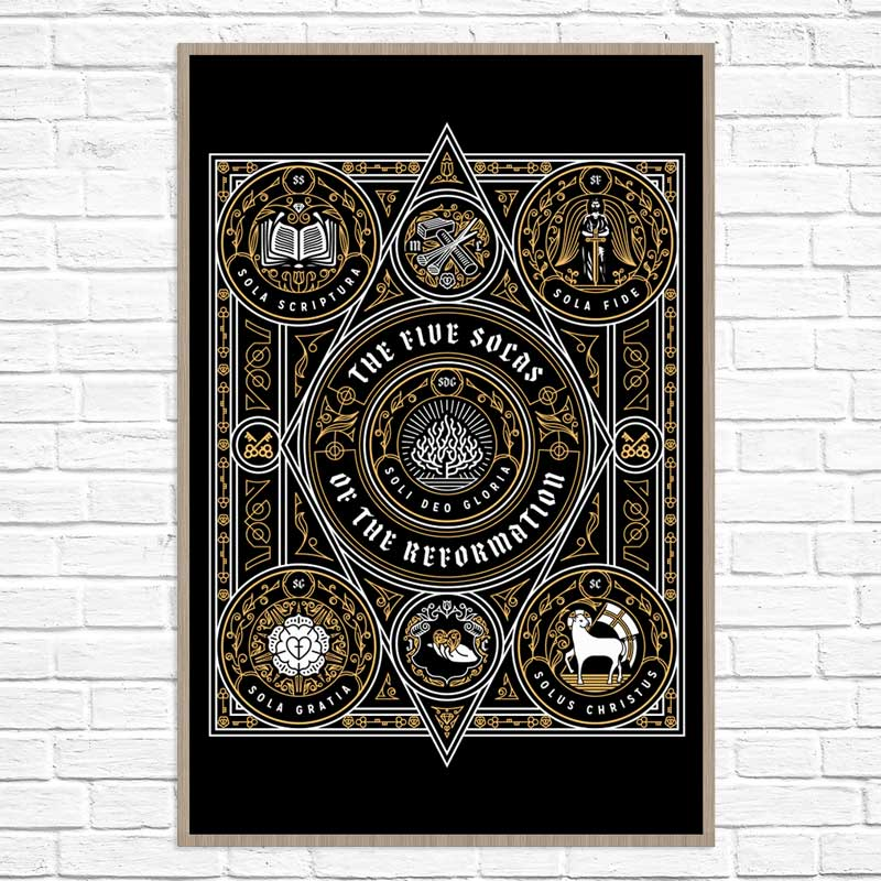 The Five Solas of the Reformation - Poster