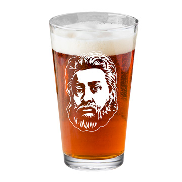 Charles Spurgeon Pint Glass