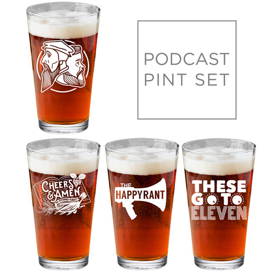 Reformed Podcast Pint Set