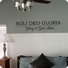 Soli Deo Gloria - Wall Art