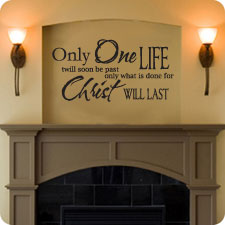 Only One Life - Wall Art