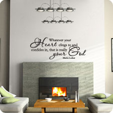 Your Real God (Martin Luther)  - Wall Art